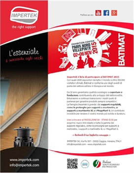 Impertek at BATIMAT 2015
